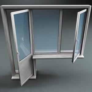 Plastic Window1 300x300 BALKONŲ STIKLINIMAS