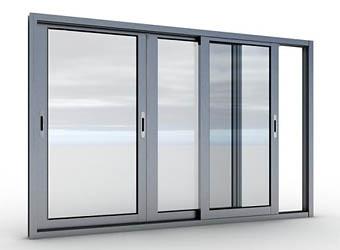 aliuminio balkono remas sidabrin1 BALKONŲ STIKLINIMAS
